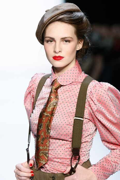 Perfect Vintage Model Style